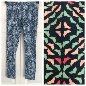 Vineyard vines navy blue whale girls' leggings